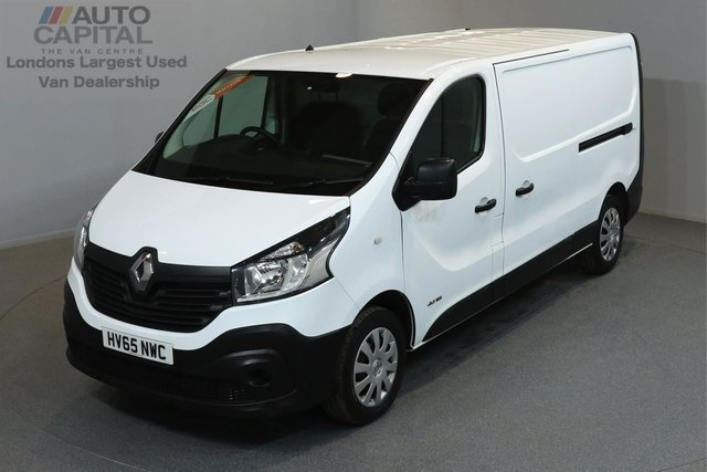 2015 65 RENAULT TRAFIC 1.6 LL29 BUSINESS DCI 115 BHP LWB LOW ROOF  ONE OWNER FROM NEW, SERVICE HISTORY