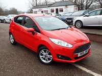 USED 2015 15 FORD FIESTA 1.2 ZETEC 5d 81 BHP FULL Service History