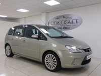 USED 2008 08 FORD C-MAX 1.8 TITANIUM TDCI 5d 116 BHP EXCELLENT CONDITION, FULL SERVICE HISTORY, 1 YR MOT