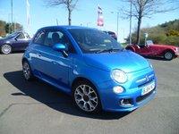 2014 FIAT 500 1.2 S 3d 69 BHP £6250.00