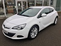 USED 2015 65 VAUXHALL ASTRA 1.6 GTC SRI TURBO COUPE S/S 3DR HATCHBACK 197 BHP
