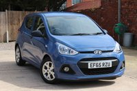 USED 2015 65 HYUNDAI I10 1.0 S AIR BLUE DRIVE 5d 65 BHP **** FULL SERVICE HISTORY * £20 ROAD TAX ****