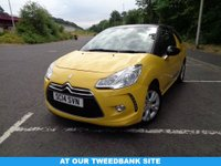 USED 2014 14 CITROEN DS3 1.6 DSTYLE 3d 120 BHP 12 MONTH WARRANTY