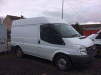 2011 FORD TRANSIT 280 SWB 2.2 85 BHP  £4595.00