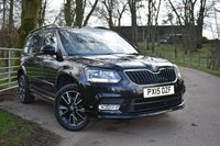 2015 SKODA YETI 2.0 BLACK EDITION TDI CR 5d 138 BHP £12250.00