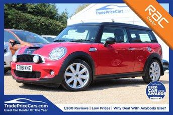 2008 MINI CLUBMAN 1.6 COOPER S 5d 172 BHP £4950.00