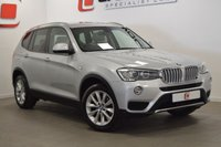 USED 2014 64 BMW X3 3.0 XDRIVE30D SE 5d AUTO 255 BHP PAN ROOF + NAV + CREAM LEATHER + HISTORY + 1 OWNER