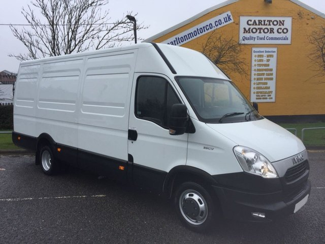 2012 12 IVECO-FORD DAILY 3.0hpi 35C17 170 LWB HIGH ROOF LOW MILEAGE DRW A/C FREE UK DELIVERY