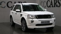 USED 2014 14 LAND ROVER FREELANDER 2.2 SD4 DYNAMIC 5d AUTO 190 BHP BLACK / IVORY HEATED ELECTRIC LEATHER SEATS + CONTRAST STITCH, HDD SATELLITE NAVIGATION + BLIUETOOTH CONNECTIVITY + PREMIUM MERIDIAN SOUND + DAB RADIO, EXTERIOR COLOUR CODED BLACK GRILLES, SIDE VENTS + DOOR HANDLES, 19 INCH GRAPHITE GREY ALLOY WHEELS, DUAL ZONE CLIMATE CONTROL, LEATHER MULTI FUNCTION STEERING WHEEL, AUTOMATIC BI-XENON HEADLIGHTS + POWER WASH, PARK DISTANCE CONTROL, CRUISE CONTROL, DUAL ZONE CLIMATE CONTROL, PRIVACY GLASS TO THE REAR, TAILORED RUBBER OVERMATTS + LOAD LINER