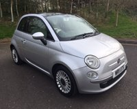 2011 FIAT 500 1.2 LOUNGE 3d 69 BHP £4690.00