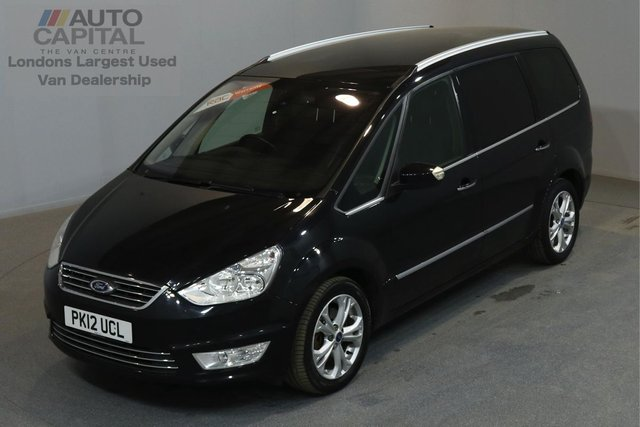 2012 12 FORD GALAXY 2.0 TITANIUM 161 BHP AUTO A/C 7 SEATER 2 OWNER FROM NEW, SERVICE HISTORY