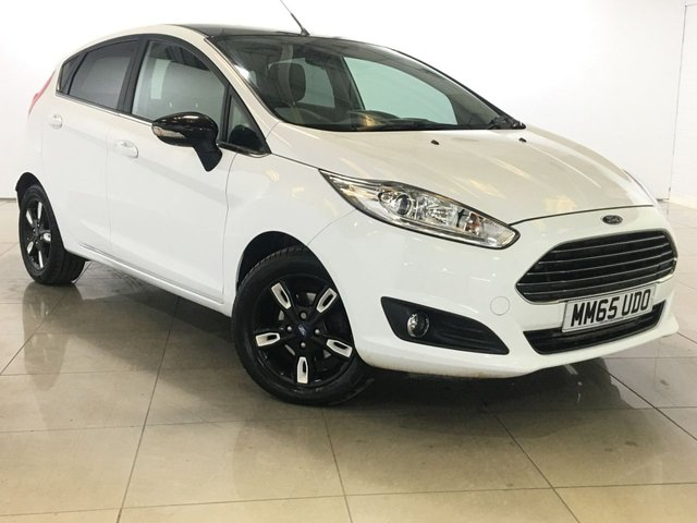 View our 2016 65 FORD FIESTA 1.0 ZETEC WHITE EDITION AUTUMN 5d 99 BHP