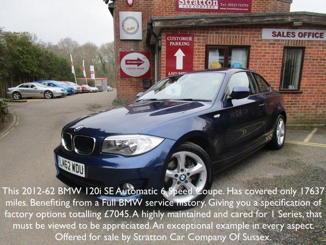 2012 62 BMW 1 SERIES 2.0 120I SE 2d AUTO 168 BHP
