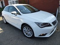 2015 SEAT LEON 1.2 TSI SE TECHNOLOGY 3d 110 BHP Extra High Spec Car, Very Nice £9000.00