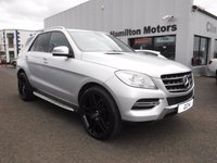 USED 2014 10 MERCEDES-BENZ M CLASS 2.1 ML250 BLUETEC SE 5d 204 BHP