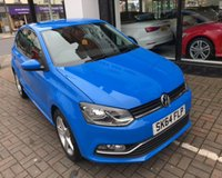 USED 2014 64 VOLKSWAGEN POLO SEL TDI BLUEMOTION