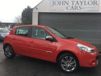 2012 RENAULT CLIO 1.1 DYNAMIQUE TOMTOM 16V 5d 75 BHP, IDEAL FIRST CAR, CHEAP TAX AND INSURANCE  £3995.00