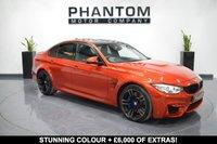 2015 BMW M3 3.0 M3 4d AUTO 426 BHP £35490.00
