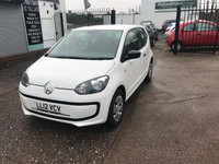 USED 2012 12 VOLKSWAGEN UP 1.0 TAKE UP 3d 59 BHP JUST ARRIVED Full Main Dealer Service History-1 Former Keeper-Aux Socket-Isofix-£20 For 12 Months Road Tax