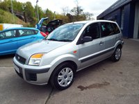 USED 2009 59 FORD FUSION 1.4 STYLE PLUS 5d 80 BHP SERVICE HISTORY