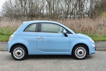 2012 FIAT 500 1.2 LOUNGE 3d 69 BHP £4990.00