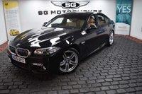 USED 2015 15 BMW 5 SERIES 2.0 520d M Sport 4dr 19' 351M ALLOYS, LOW MILES,FSH