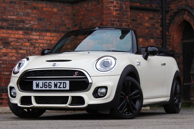 2016 66 MINI CONVERTIBLE 2.0 Cooper S (JCW Sport Chili) 2dr