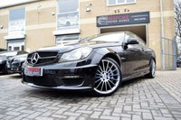 2014 MERCEDES-BENZ C 63 AMG COUPE V8 AUTOMATIC £31995.00