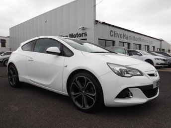 2015 VAUXHALL ASTRA 1.4 GTC LIMITED EDITION S/S 3d 138 BHP £8995.00