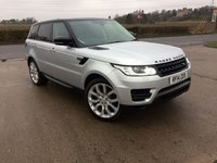 USED 2014 14 LAND ROVER RANGE ROVER SPORT 3.0 TDV6 SE 5d AUTO 258 BHP