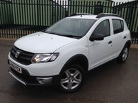 2016 DACIA SANDERO 0.9 STEPWAY AMBIANCE TCE 5d 90 BHP ALLOYS ONE OWNER FSH £7490.00