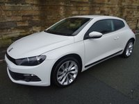 USED 2012 61 VOLKSWAGEN SCIROCCO 2.0 GT TDI BLUEMOTION TECHNOLOGY 2d 140 BHP