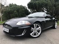 "USED 2010 10 JAGUAR XK 5.0 XK 2d AUTO 385 BHP CONVERTIBLE XK 5.0 IN BLACK WITH CREAM LEATHER FULL JAGUAR SERVICE HISTORY 20""ALLOYS"