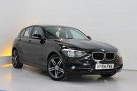 USED 2014 64 BMW 1 SERIES 1.6 116I SPORT 5d 135 BHP satellite navigation,bluetooth