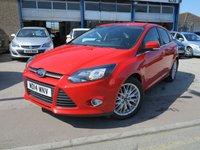 2014 FORD FOCUS 1.0 ZETEC 5d 124 BHP £8495.00
