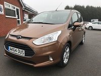 USED 2015 64 FORD B-MAX 1.4 ZETEC 5dr * Low Miles Great Value Small MPV *