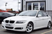 USED 2011 11 BMW 3 SERIES 2.0 320D EFFICIENTDYNAMICS 4d 161 BHP FSH,Stop/start,20£ road tax,rear parking sensors,1 former keeper