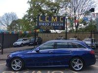 2014 MERCEDES-BENZ C CLASS 2.1 C220 BLUETEC AMG LINE PREMIUM 5d AUTO 170 BHP £19299.00