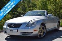 2007 LEXUS SC 4.3 430 2d AUTO 282 BHP £13490.00