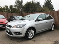 2010 FORD FOCUS 1.6 TDCI TITANIUM 5d  WITH FULL SERVICE HISTORY £4250.00