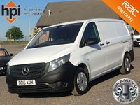 2015 MERCEDES-BENZ VITO 1.6 109 CDI FACELIFT LONG LWB £9990.00
