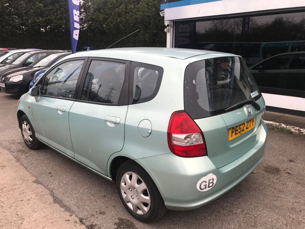 ... USED 2003 52 HONDA JAZZ 1.3 DSI SE 5d 82 BHP SPARES OR REPAIR, NO ...