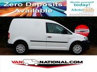 2013 VOLKSWAGEN CADDY 1.6 C20 TDI STARTLINE 75BHP (one owner lovely van) £5895.00