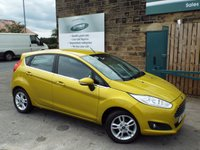 USED 2016 16 FORD FIESTA 1.0 ZETEC 5d 99 BHP ONE Owner FULL Ford Service History