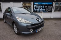 USED 2007 07 PEUGEOT 207 1.6 SPORT 3d 108 BHP,LOW MILES,A/C,ALLOYS HISTORY