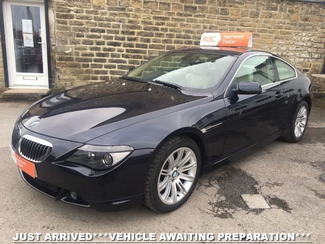 2007 07 BMW 6 SERIES 650i 4.8 V8 COUPE AUTO
