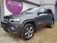 USED 2013 JEEP GRAND CHEROKEE 3.0 V6 CRD OVERLAND 5d 247 BHP