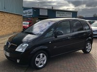 2005 VAUXHALL MERIVA 1.4 DESIGN 16V TWINPORT 5d 90 BHP This car is ready to go !! £1695.00