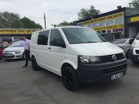 USED 2010 60 VOLKSWAGEN TRANSPORTER 2.0 T28 TDI 2 DOOR 102 BHP IN WHITE WITH SIDE WINDOW AND 113200 MILES APPROVED CARS ARE PLEASED TO OFFER THIS VOLKSWAGEN TRANSPORTER 2.0 T28 TDI 2 DOOR 102 BHP IN WHITE WITH A BLACK TINTED SIDE WINDOW IN GREAT CONDITION INSIDE AND OUT WITH LIGHT WEAR IN THE BACK WITH BLACK ALLOYS AND A DOCUMENTED SERVICE HISTORY A NICE VAN AN IDEAL CARAVAN CONVERSION OR WORK VAN.
