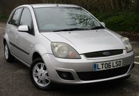 USED 2006 06 FORD FIESTA 1.6 GHIA 16V 5d AUTO 100 BHP LOW MILEAGE
